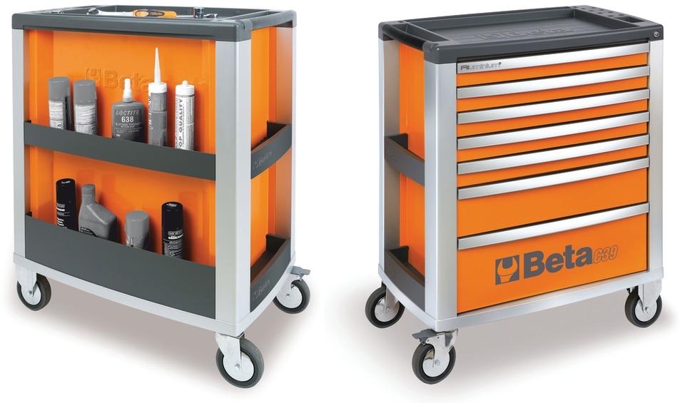 Beta Tools C39 Tool Cart In Tool Storage