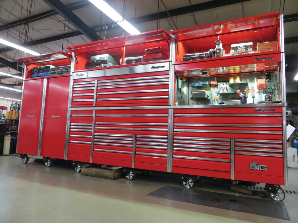 big-time boxes snap-on toolbox mark oliphant