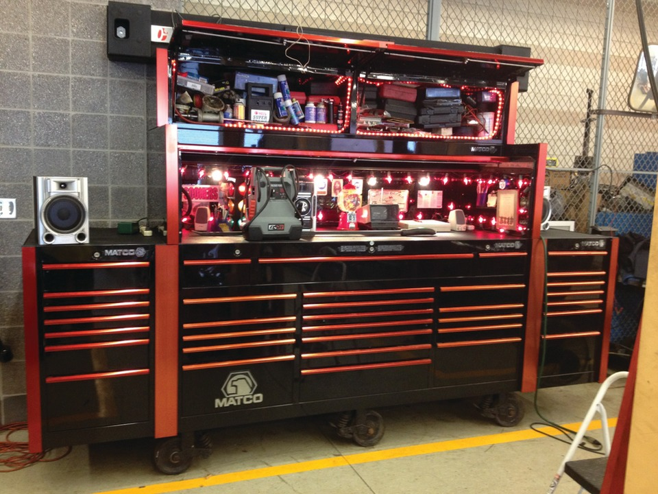 Edward Herendeen Big Time Tool Box Matco Tools
