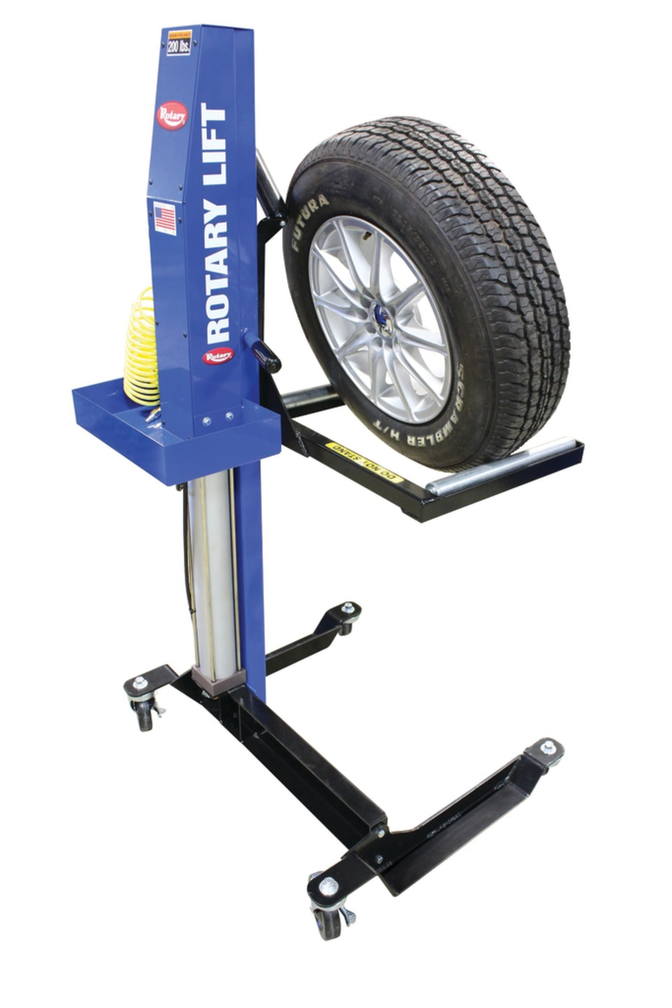 Fork Lift Wheels : Rotary lift mw mobile wheel in accessories