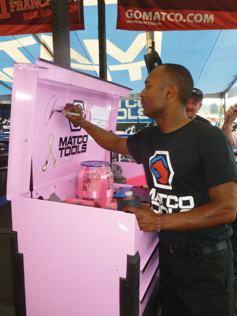 1f6d8de35 Matco Tools continues  Tools for the Cause  campaign with launch of  I  Drive For  breast cancer awareness program