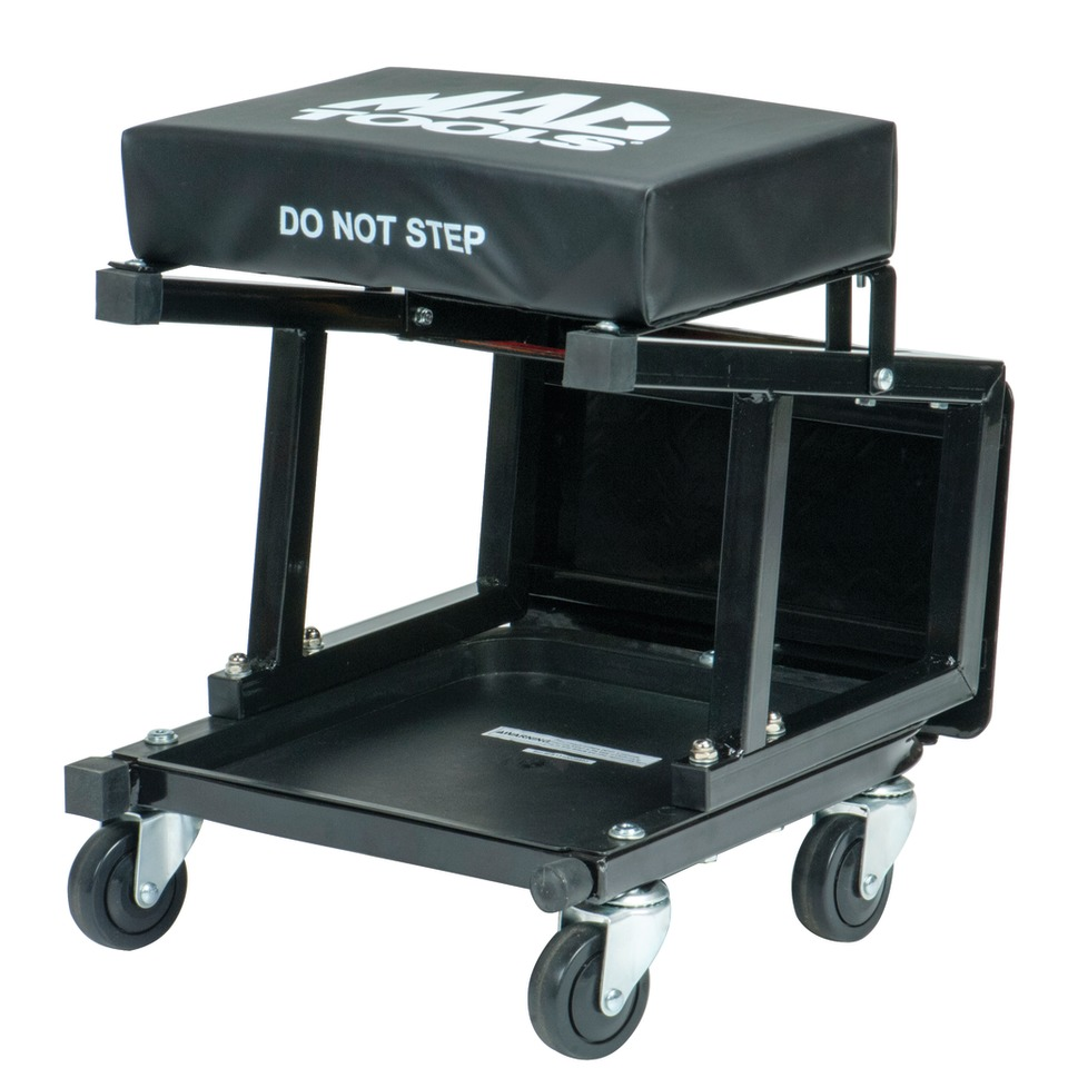 The Mac Tools 2 In 1 Seat Stool Combo No Crs350 Is A Multi Purpose With Function Built Around Strong Professional Grade Reinforced Steel
