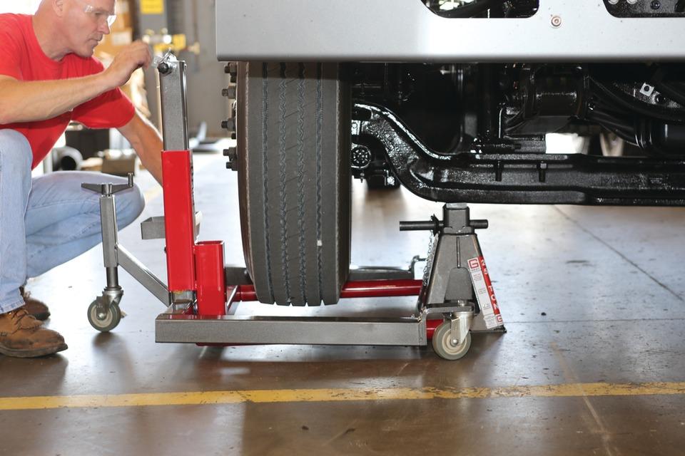 equipment  assist  tire maintenance
