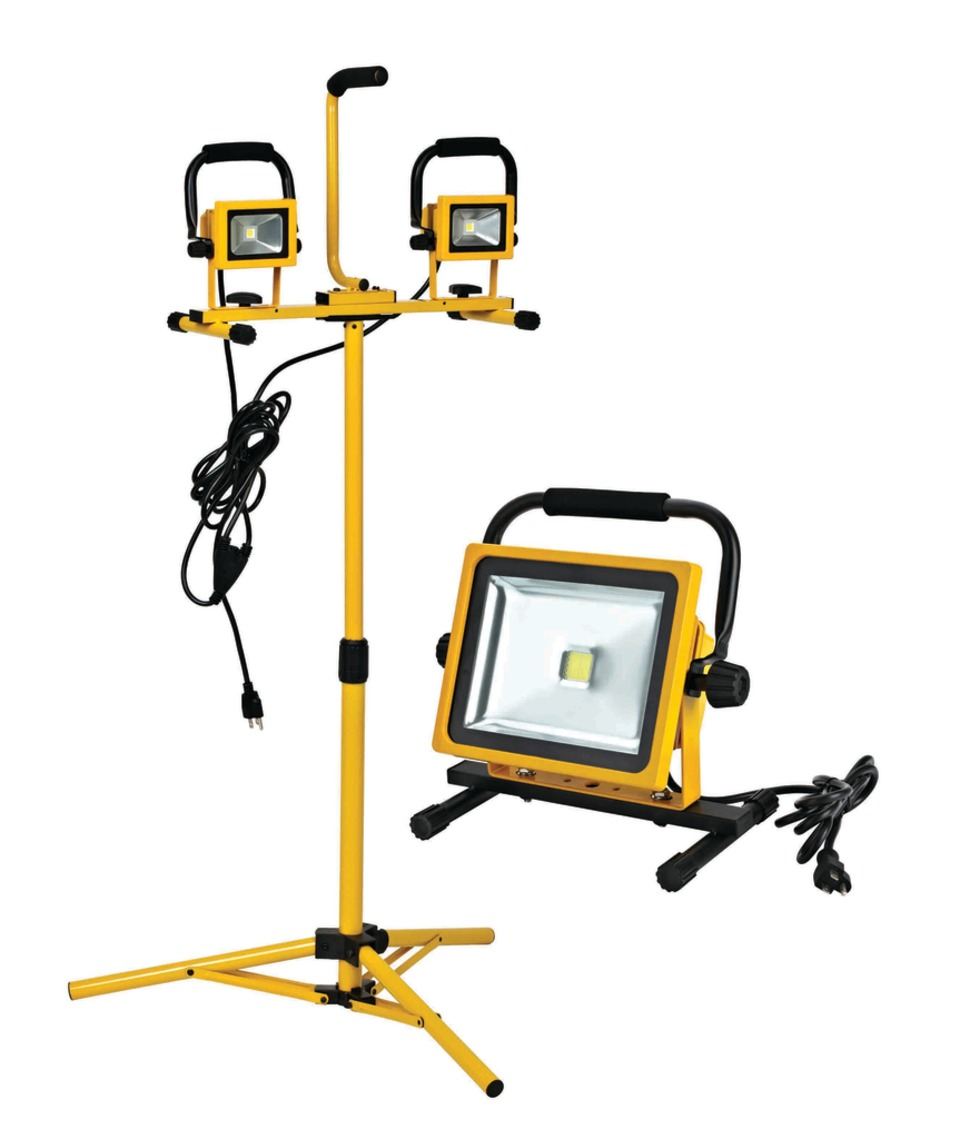 Alert Stamping & Mfg Co  Inc  Line of Portable LED Flood