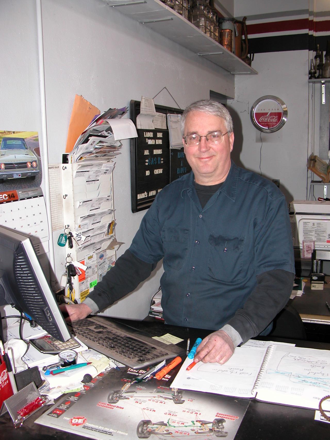 Top 10 Tools, Mark Maas: Mark's Auto Repair LLC