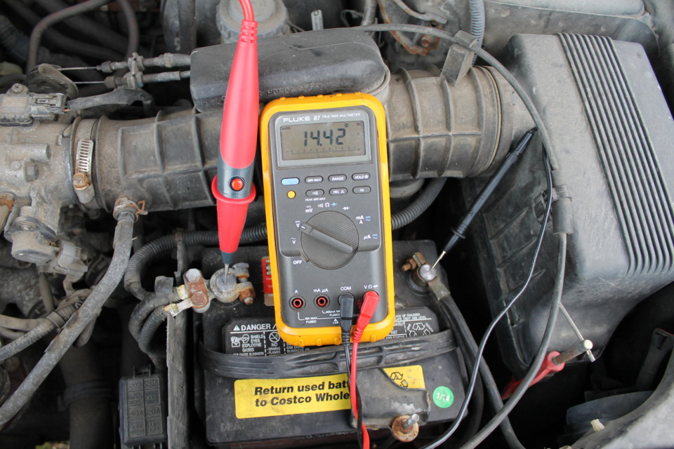 Tool Q&A Question 3: Verify the voltage the alternator is