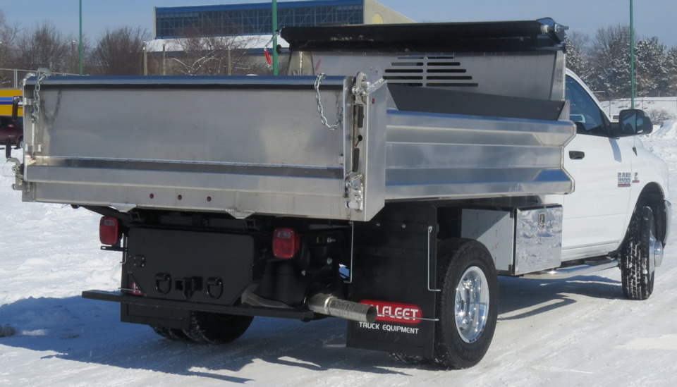 Crysteel Manufacturing Inc A Tipper Aluminum Dump Body