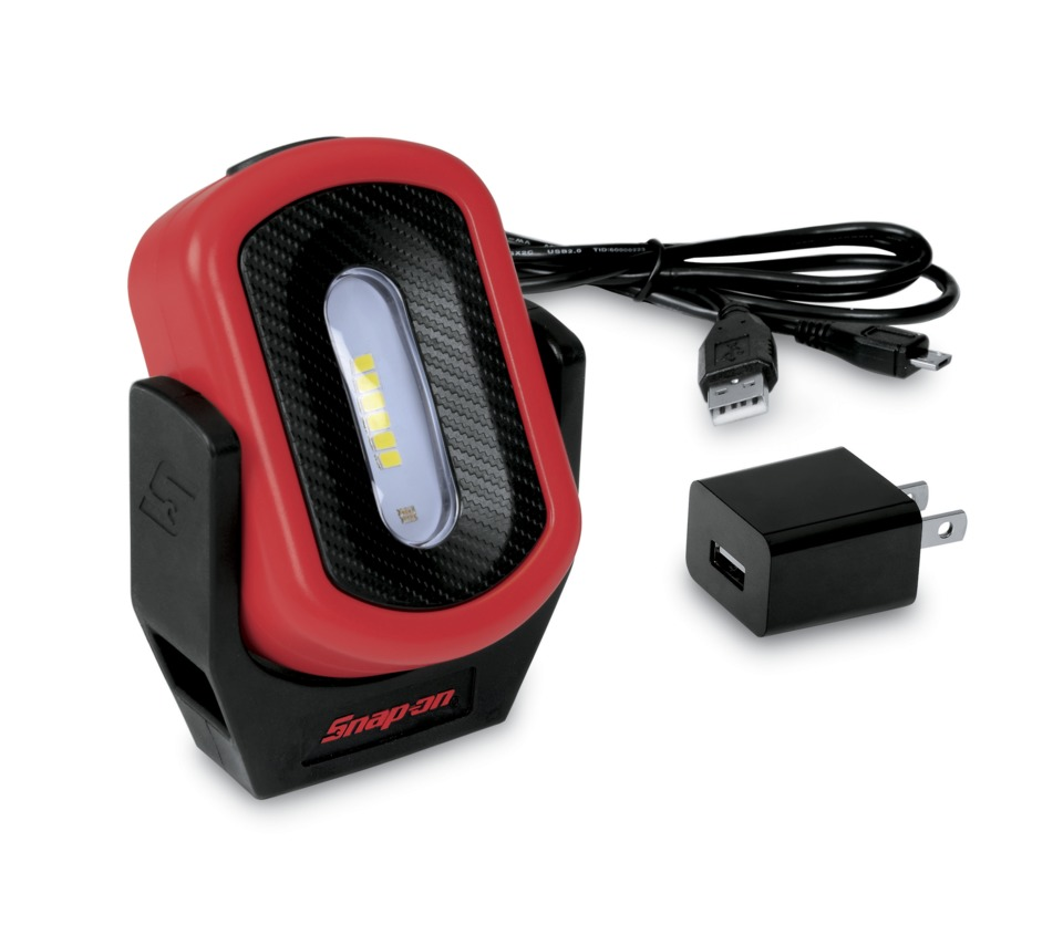 Work Light Total Tools: Snap-on Inc. Rechargeable Pivot Light, No. ECFHKY In