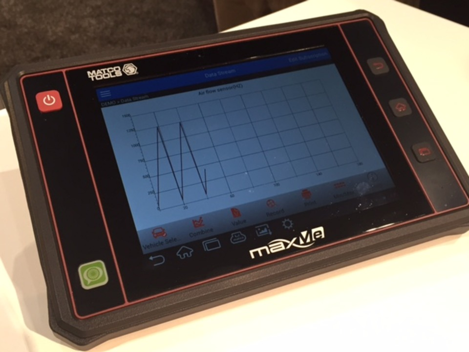 Matco Tools debuts new diagnostic scan tool and puts
