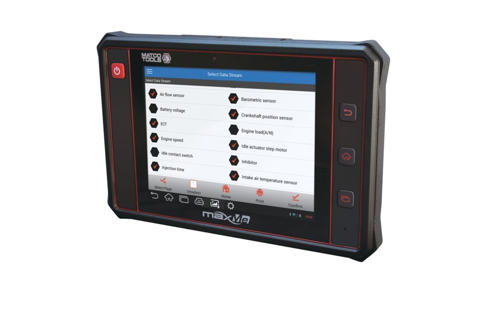Matco Tools maxME scan tool in Scan Tools