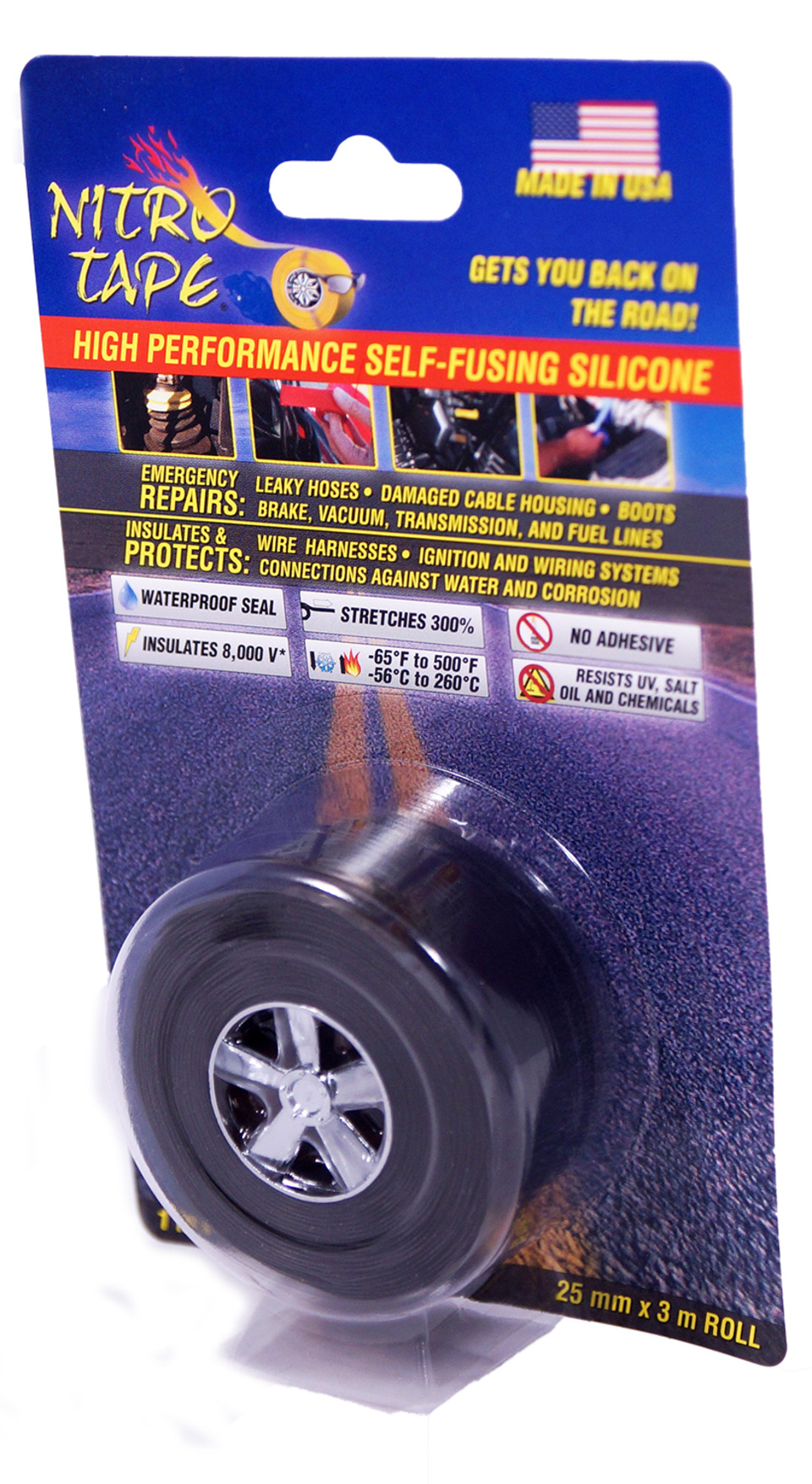 Tommy Tape Nitro In Adhesives Automotive Wire Harness Wrapping The Is A High Performance Self Fusing Silicone Specifically Formulated For And Powersport Industries