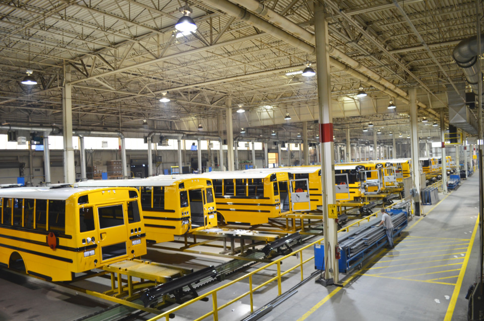 Thomas Built Buses >> Thomas Built Buses expands its Saf-T-Liner C2 conventional type school bus manufacturing ...
