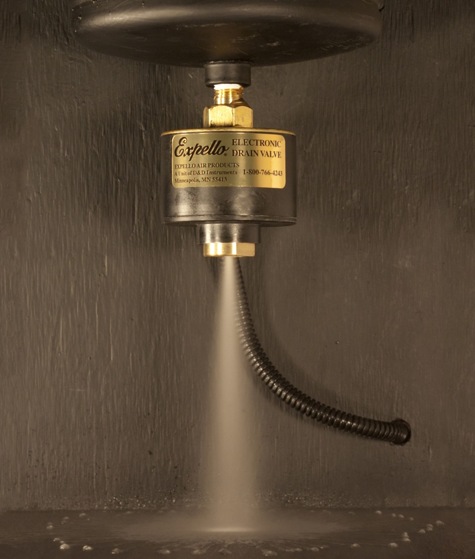 Expello Air Products Automatic Drain Valve In Compressed