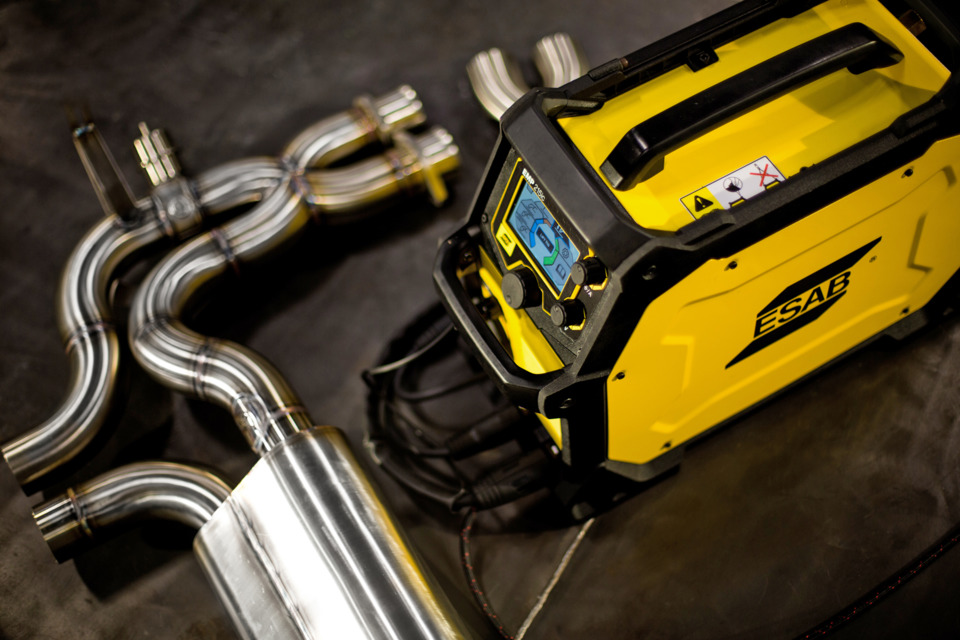 ESAB Welding and Cutting Rebel Multi-Process Welding System