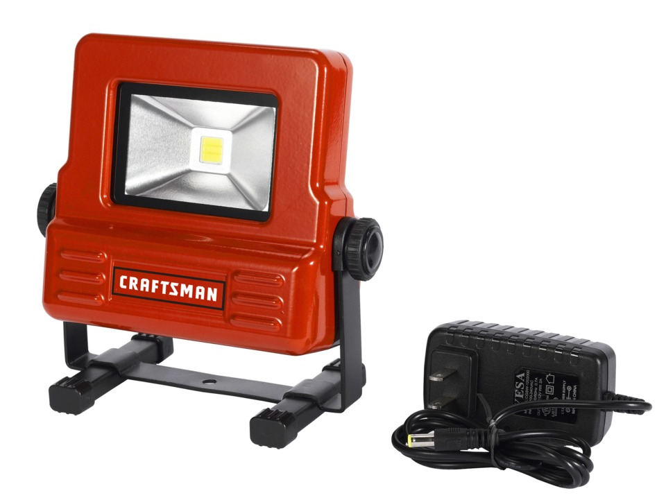 Craftsman Sears 20 Watt Rechargeable Led Light No 18468 In Equipment