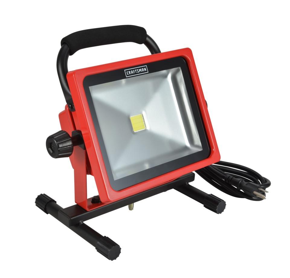 Craftsman Sears 30 Watt Portable Led Work Light No 1736 In Equipment