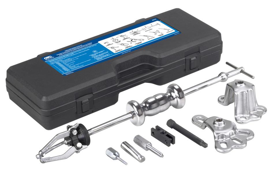 How To Use Bearing Puller Set : In focus otc way slide hammer puller set no