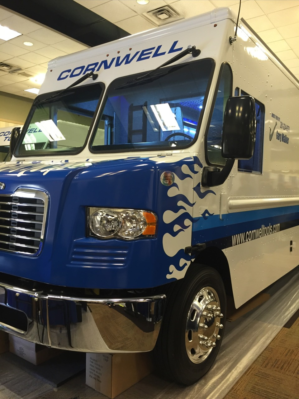 cornwell tools truck. the entrance to 2016 cornwell tools national rally in dallas, texas. truck