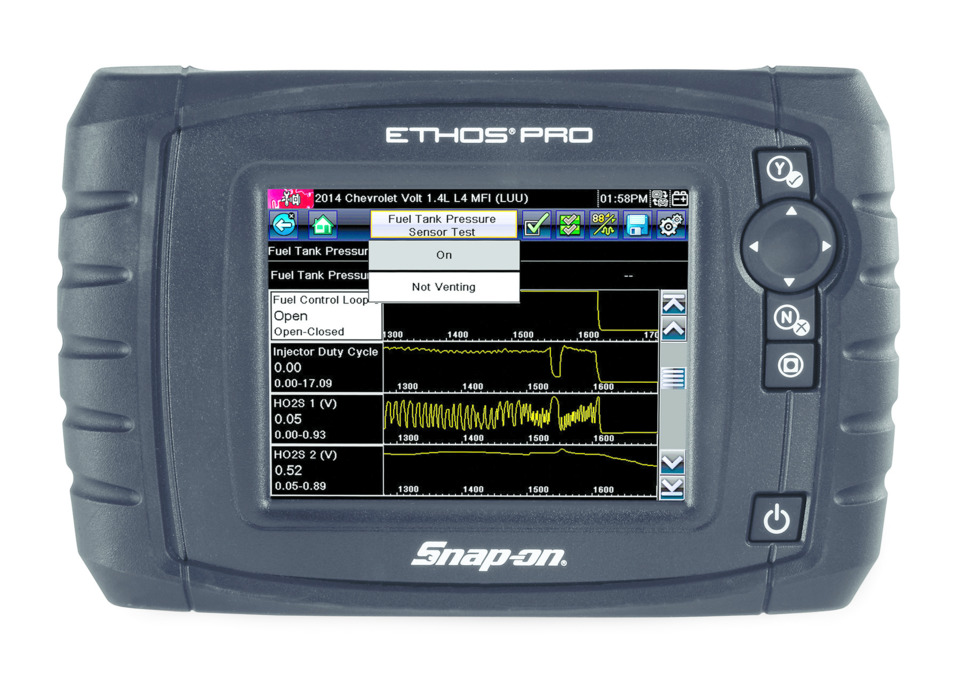 Snap-on unveils ETHOS PRO full-function scan tool