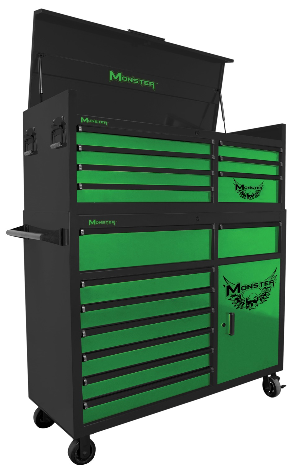 Monster 56 Toolbox Two Piece Combo In Tool Storage