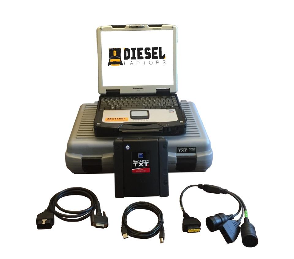 Diesel Laptops TEXA Truck Diagnostic Tool Kit in Diagnostic