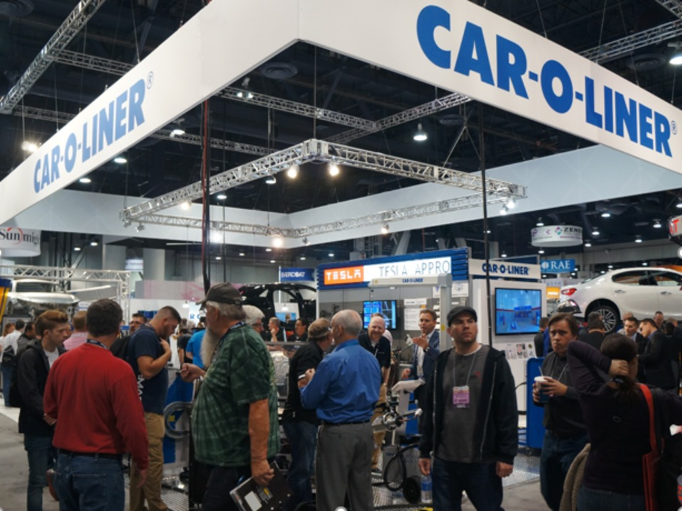 CarOLiner Booth At SEMA Show Will Showcase New Products Live - Car show giveaways