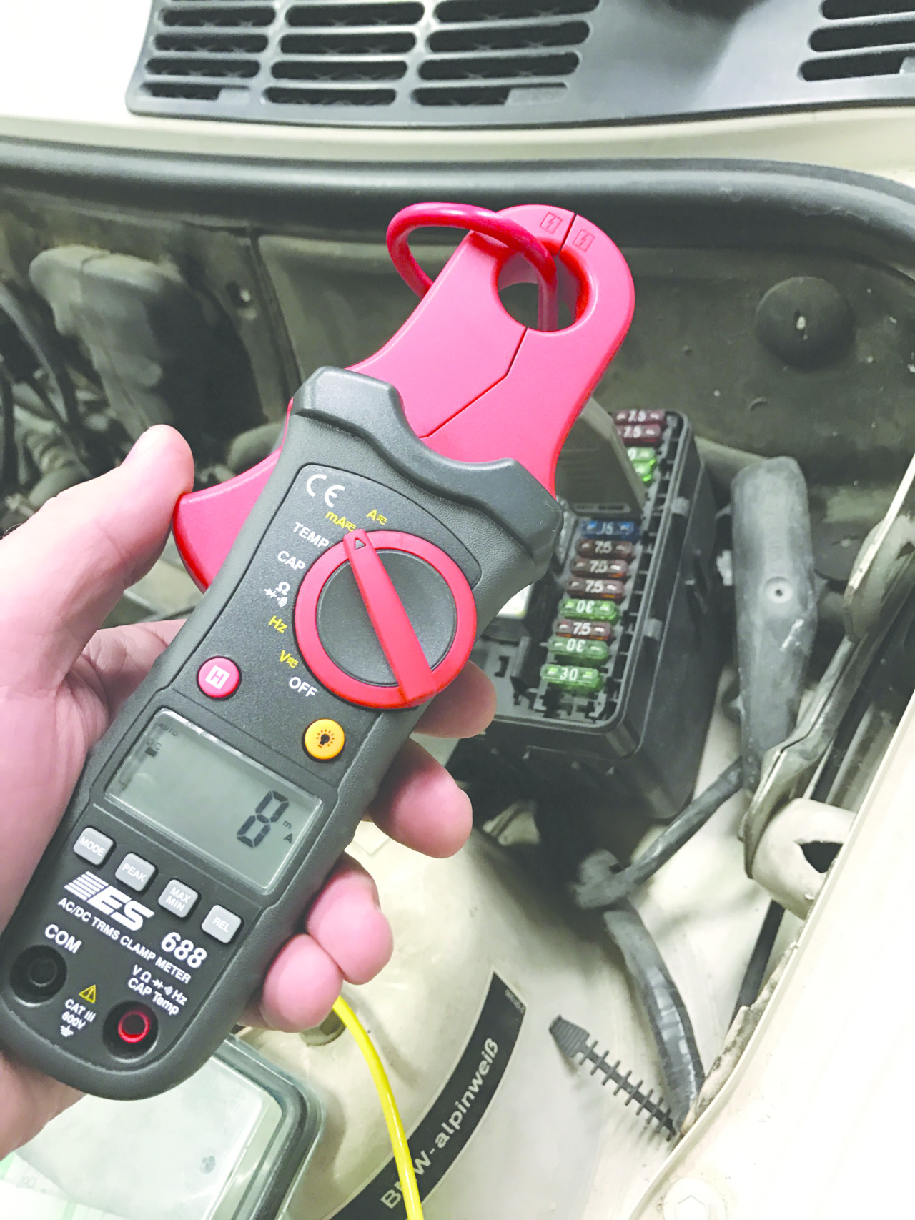 Overview of tools used for electrical system testing