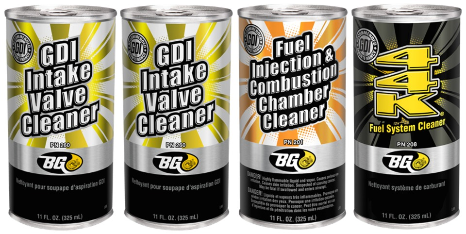 Fuel Induction Service >> Bg Products Inc Gdi Fuel Air Induction Service In Engine