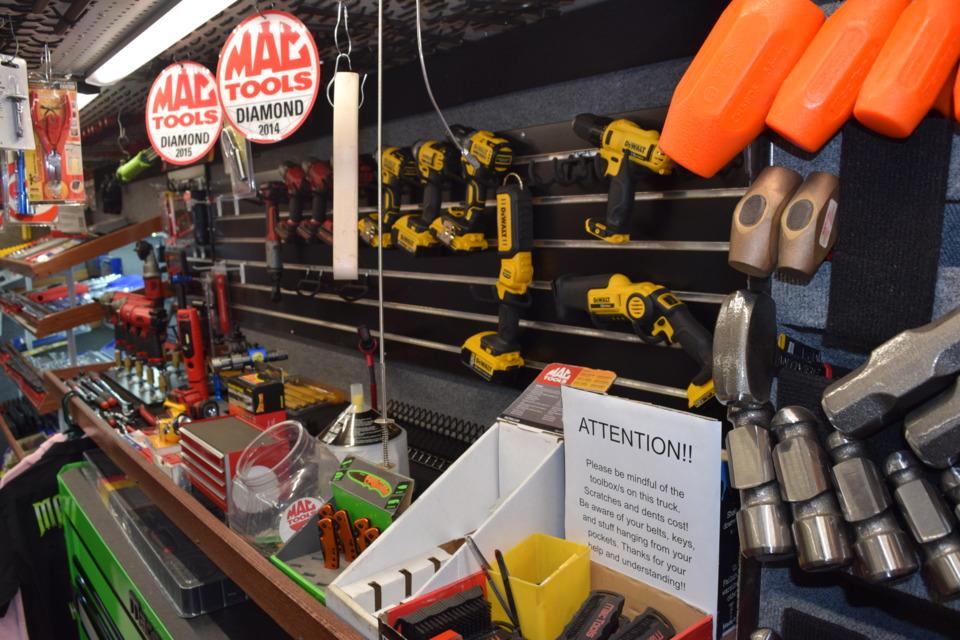 mac tools credit Show me your truck: Dana Bourne, Mac Tools