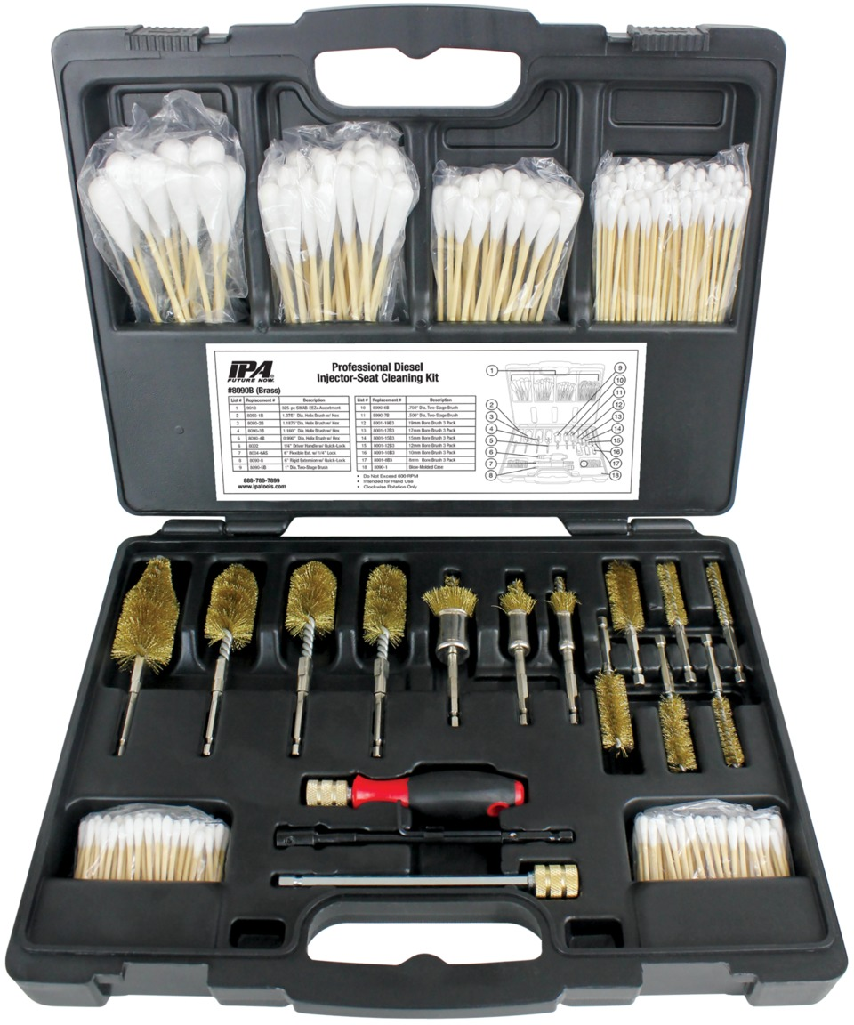 Tool Review: IPA Injector Seat Cleaning Kit