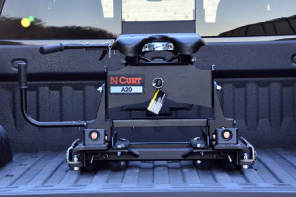 Curt Fifth Wheel Hitch >> Curt Manufacturing Inc Puck System 5th Wheel Roller Adapter in Towing Devices