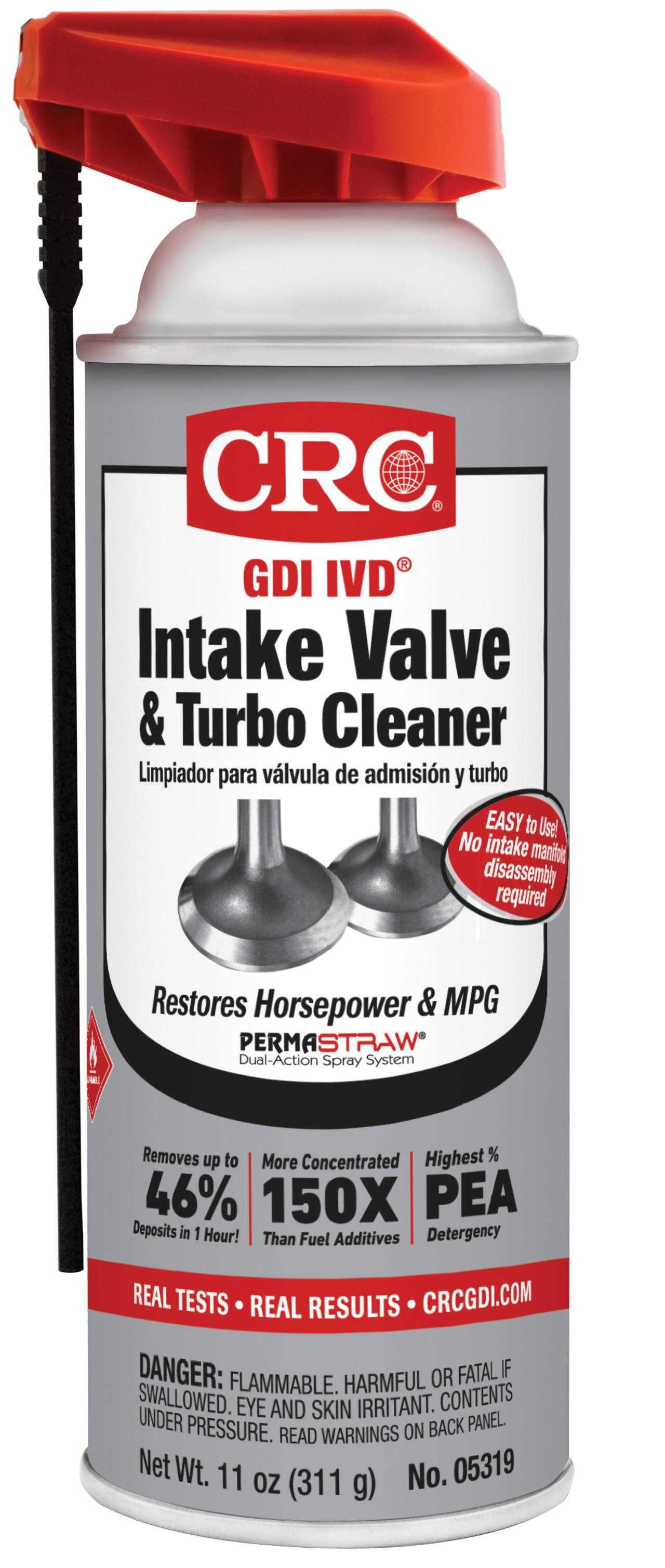 CRC Industries, Inc  GDI IVD Intake Valve & Turbo Cleaner in Vehicle