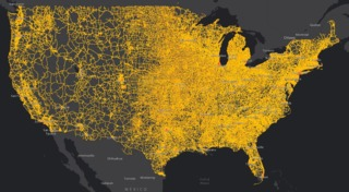 National Transportation Noise Map Shows Levels Of Interstate Highway Noise Across The Country