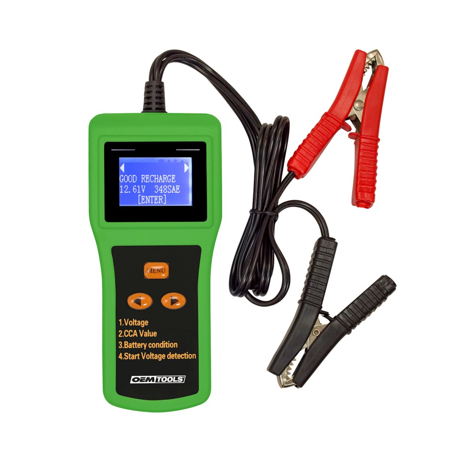 Battery Test Tools : Oem automotive tools digital battery analyzer no