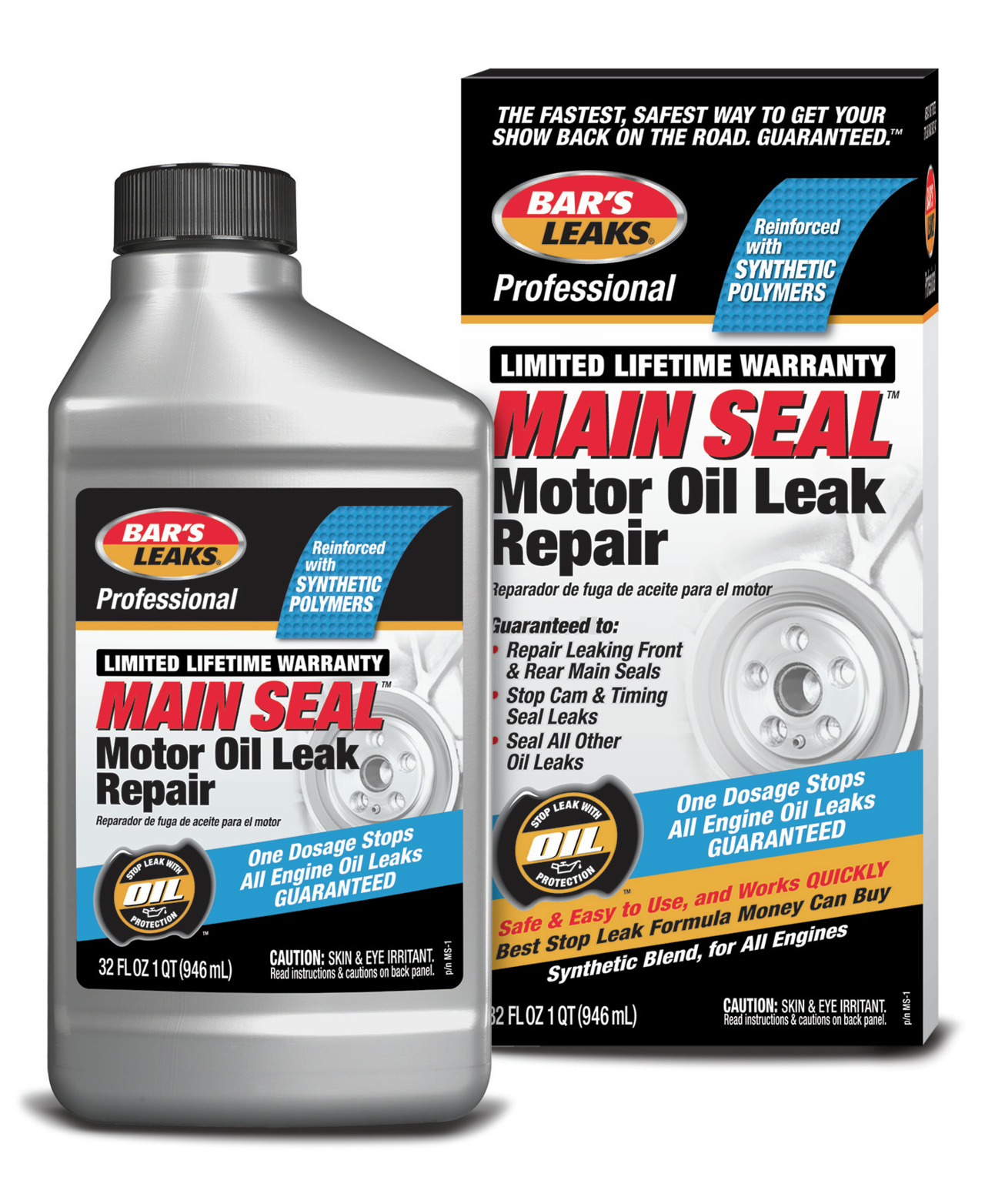 Oil Leak Repair >> Bar S Products Bar S Leaks Professional Main Seal Motor Oil Leak