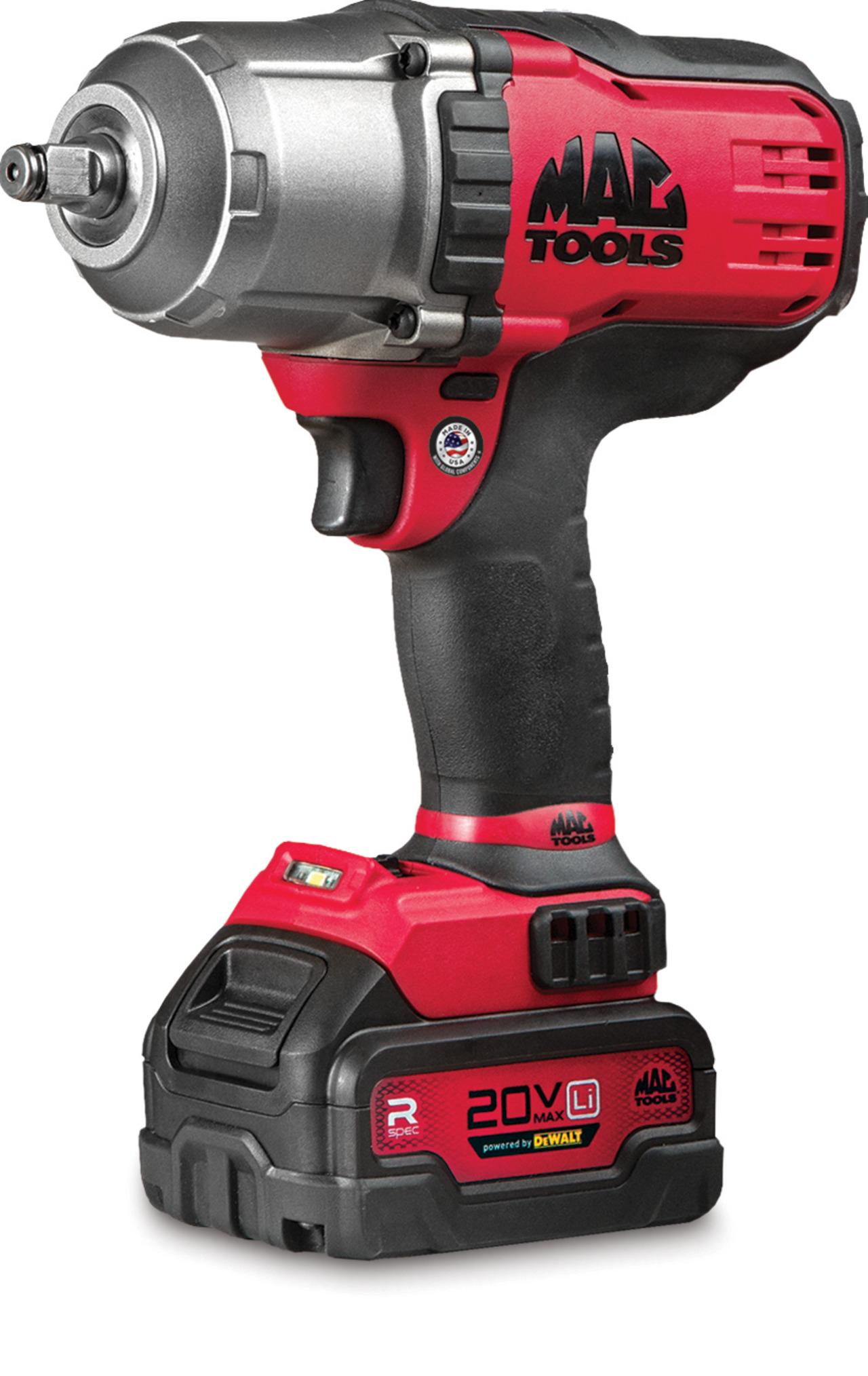 Mac tools 1/2 impact wrench 18v bruiser