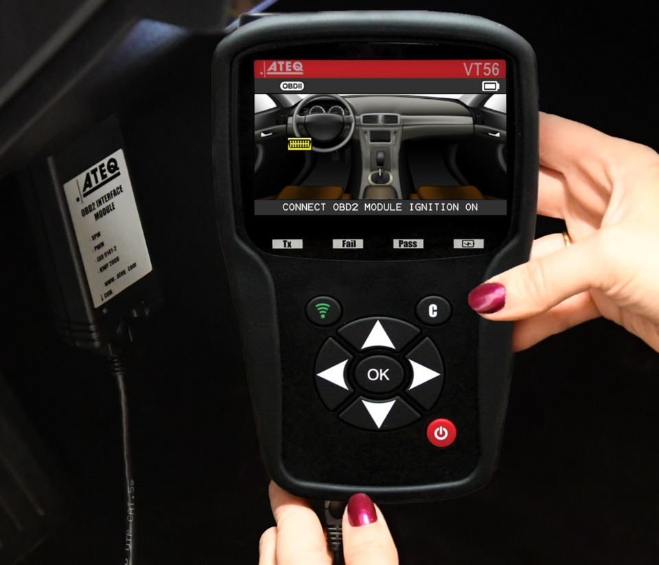 ATEQ TPMS Tools, LC VT56 Comprehensive TPMS Service Tool in Scan Tools