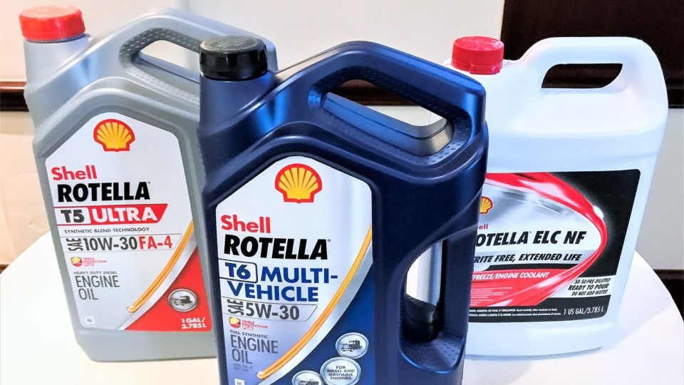 Shell Rotella's releases oil approved for both diesel and