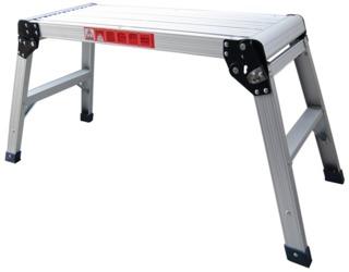 Atd Tools Inc Heavy Duty Folding Aluminum Platform No