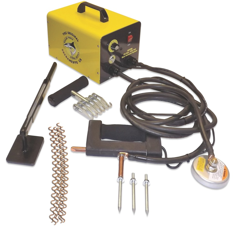 The Killer Tools Dent Removal Machine, No. ART38, is designed to be up five times faster than pin welders. This 110V system does not use circuit boards. \u0026 Equipment Corp. ART38 in