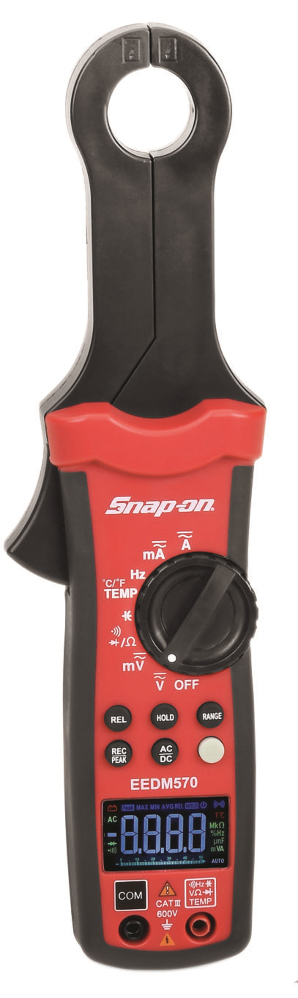 Snap On Multimeter : Snap on inc low current color digital display clamp meter