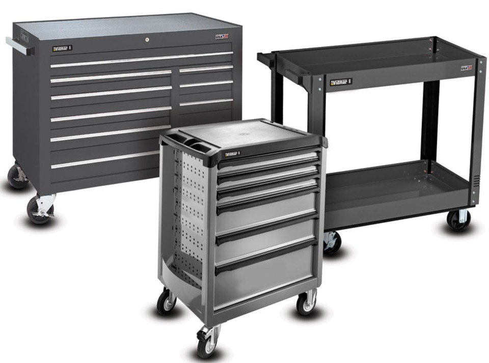 E Series Mobile Cabinet Line  sc 1 st  Vehicle Service Pros & Stanley Vidmar E-Series Mobile Cabinet Line in Tool Storage