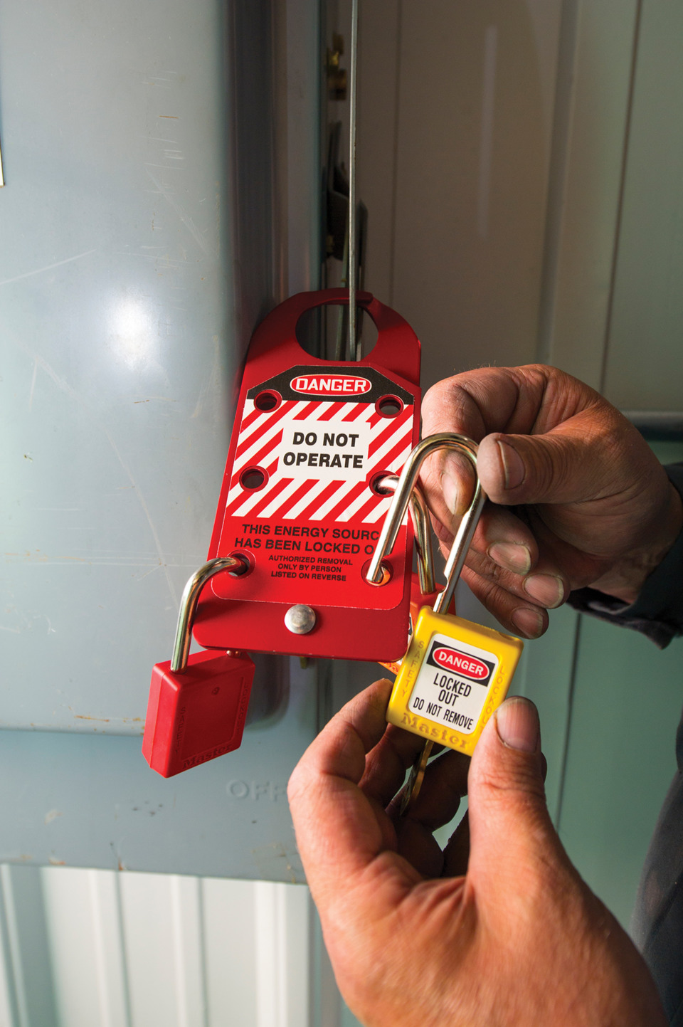 Implementing A Fleet Maintenance Facility Lockout Tagout