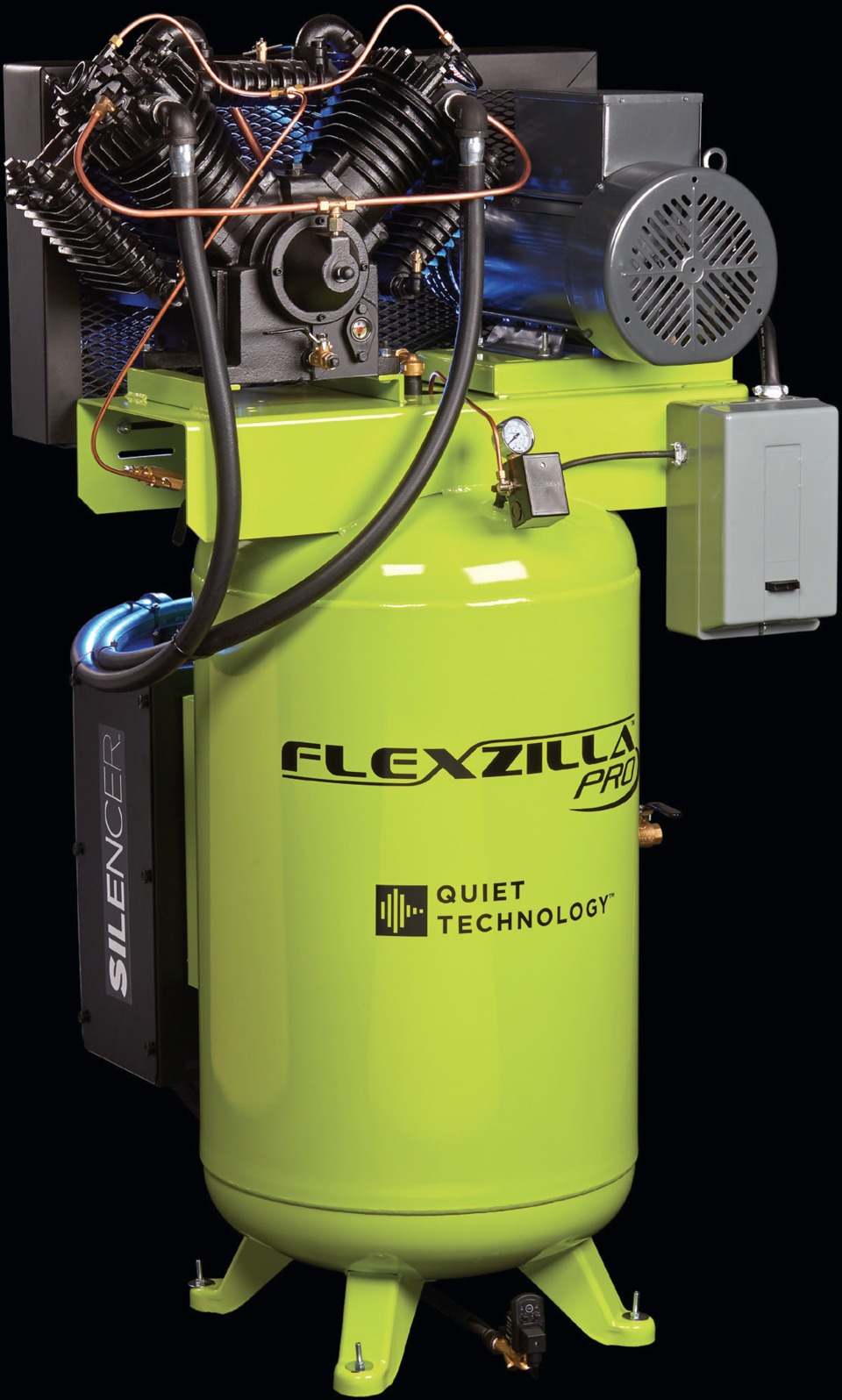 Legacy Manufacturing Flexzilla Pro Air Compressors In Shop