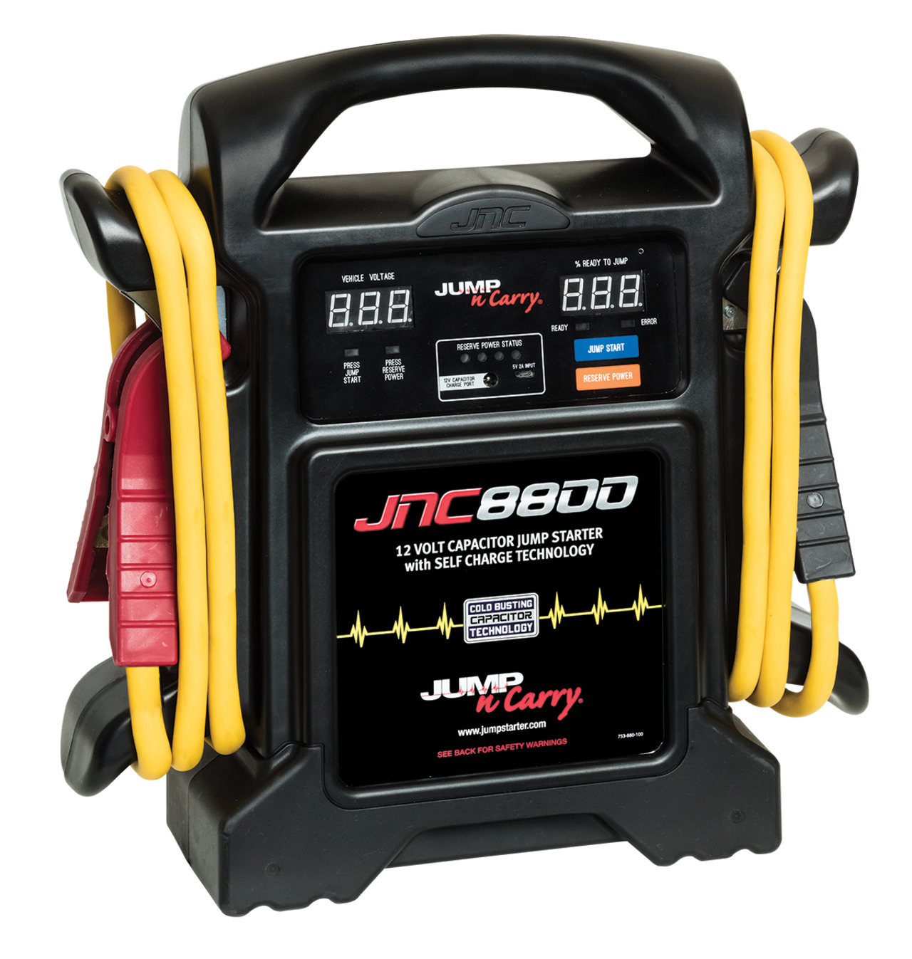 Clore Automotive 12V Ultracapacitor Jump Starter and Power