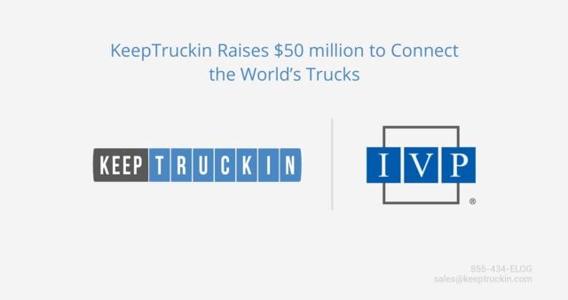 KeepTruckin raises $50 million