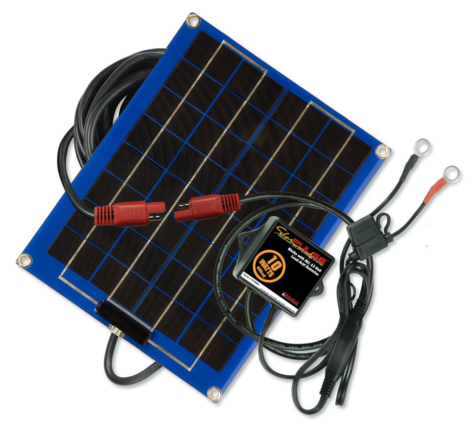 Tool Review: 10-Watt Solar Pulse Solar Charger Maintainer, No. SP-10
