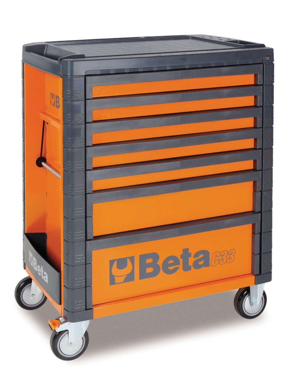 The Beta Tools C33 Tool Cabinet Features Stainless Steel Construction With  Non Marring Corner Protectors To Prevent Scratching Should The Cabinet Come  In ...