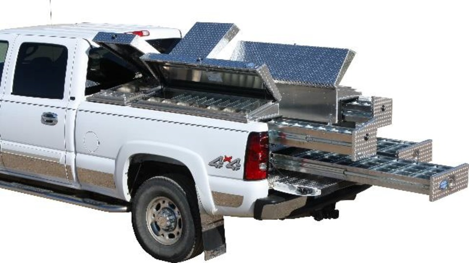American Truckboxes Llc Pullout Bed Back Boxes In Truck Boxes