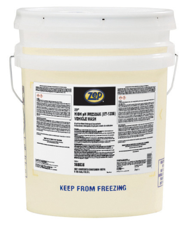 Zep Inc High Ph Presoak In Vehicle And Equipment Wash